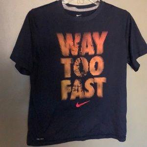 Nike T-shirt Dri-Fit size large